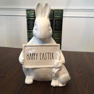 """Rae Dunn """"happy Easter"""" decor"""